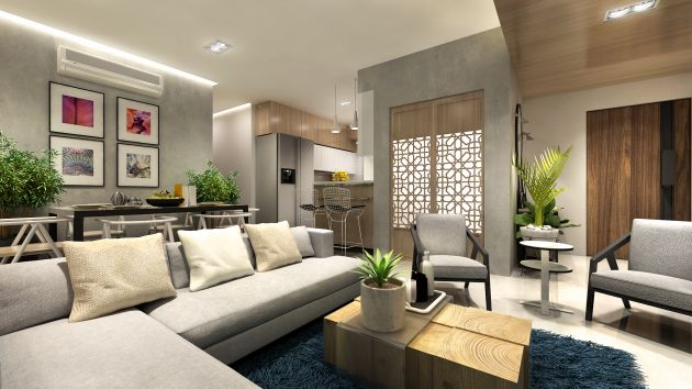 Interior decoration design